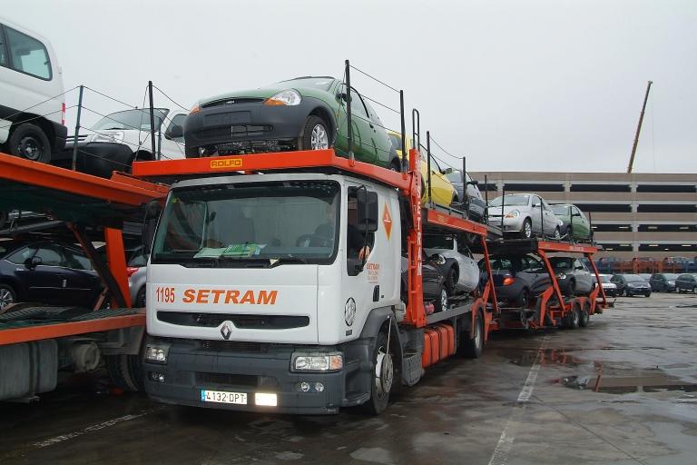 Setram servicios transporte coches  turismos vehículos