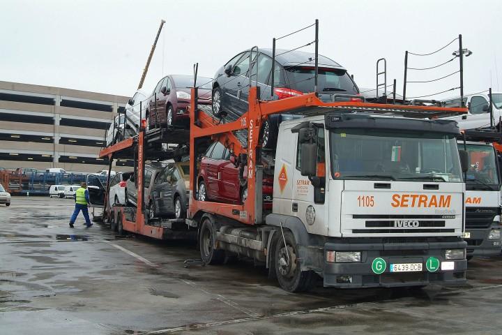 Camiones SETRAM en Terminal