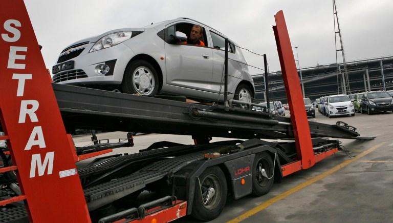 Distribución Vehículos Chevrolet Camión SETRAM Nº1