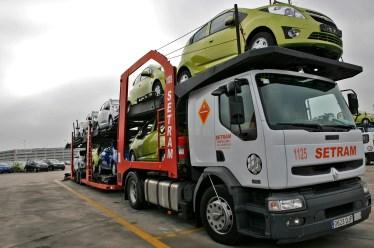 Distribución Vehículos Chevrolet Camión SETRAM Nº2
