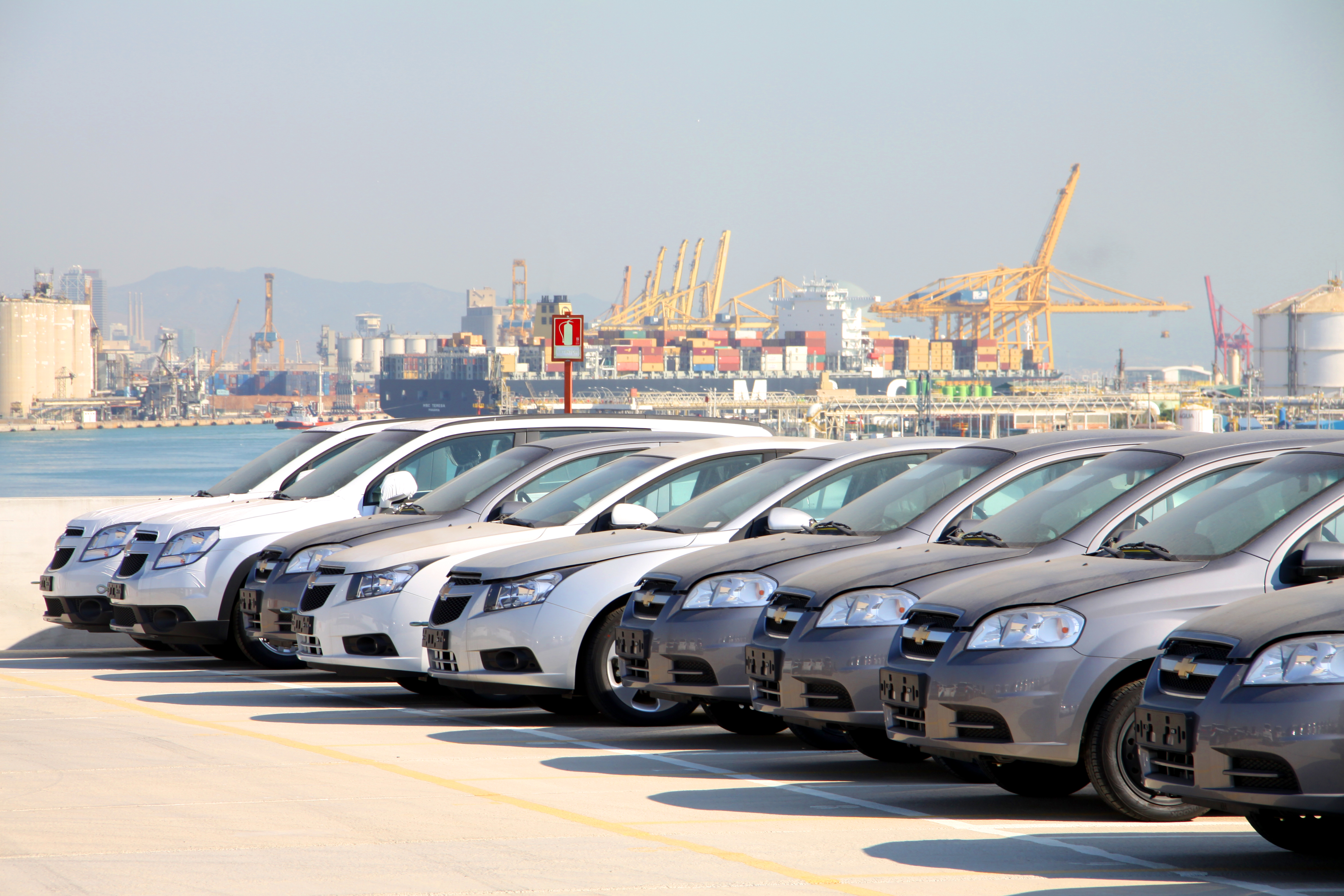 Industria del Automóvil, Grupo SETRAM, Terminal Puerto Barcelona
