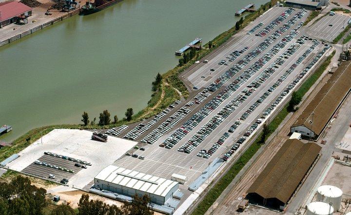 Terminal StockAuto Sur, Filial de SETRAM, en Puerto Sevilla