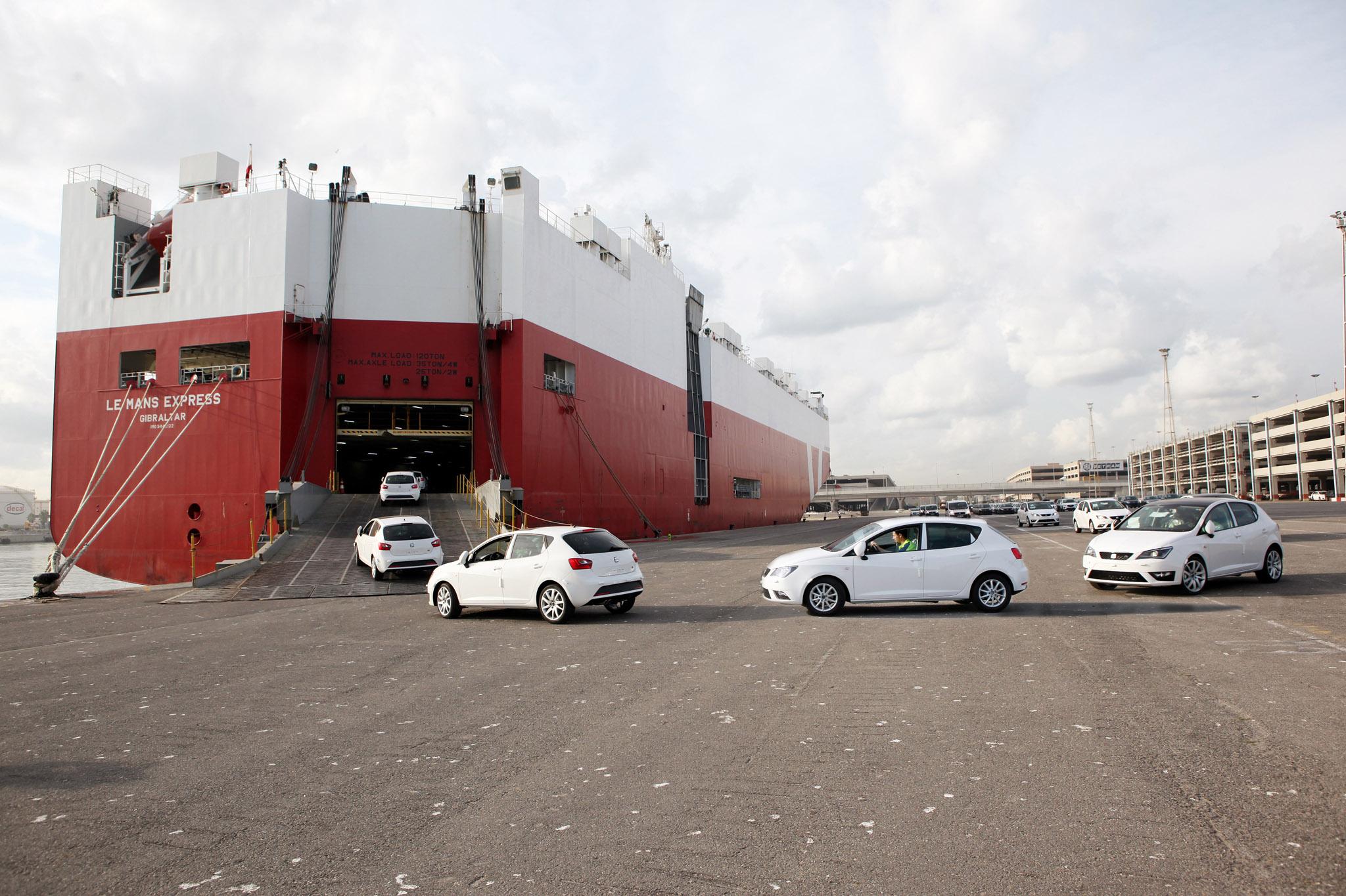 setram logistica automóvil puerto de barcelona logistica integral coches