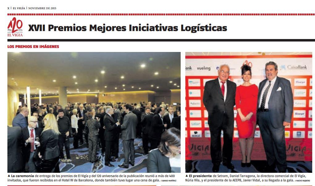 SETRAM EL VIGÍA 301115 FOTO PREMIOS