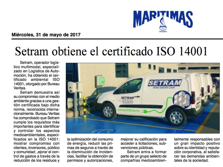 SETRAM en Diario Marítima Men Car.png