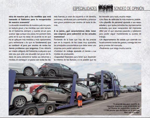 Daniel Tarragona en Transporte Profesional