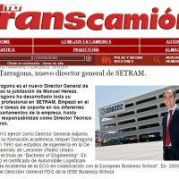 Miquel Tarragona, new general manager of SETRAM / Miquel Tarragona, nuevo Director General de SETRAM /