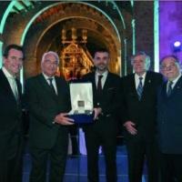 """Daniel Tarragona, presidente del Grupo SETRAM, recibe el """"Lingote de Plata Barcelona Port 2013"""""""