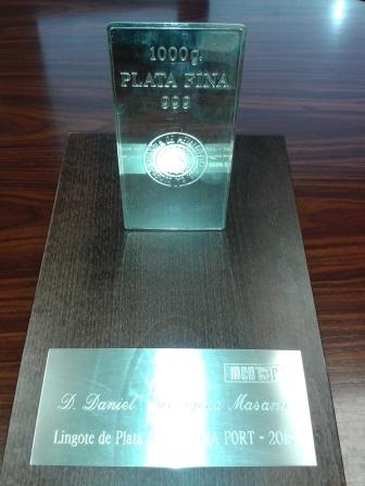 Premio a Daniel Tarragona
