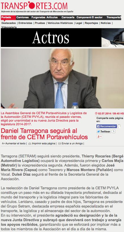 Daniel Tarragona SETRAM