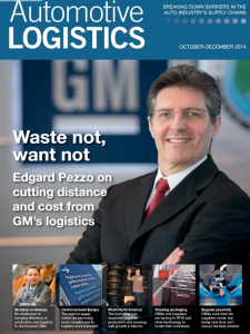 Cover Automotive Logistics 2014