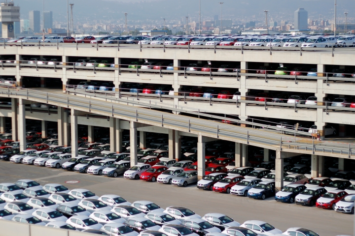 EVV SETRAM Puerto Barcelona Espacio Vertical para Vehículos SETRAM