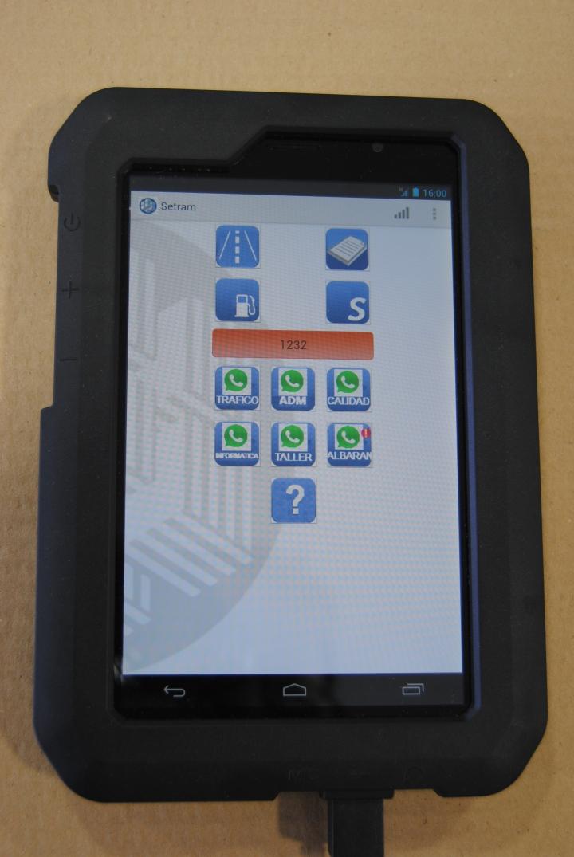 Nueva APP SETRAM para tabletas Chóferes Portavehículos