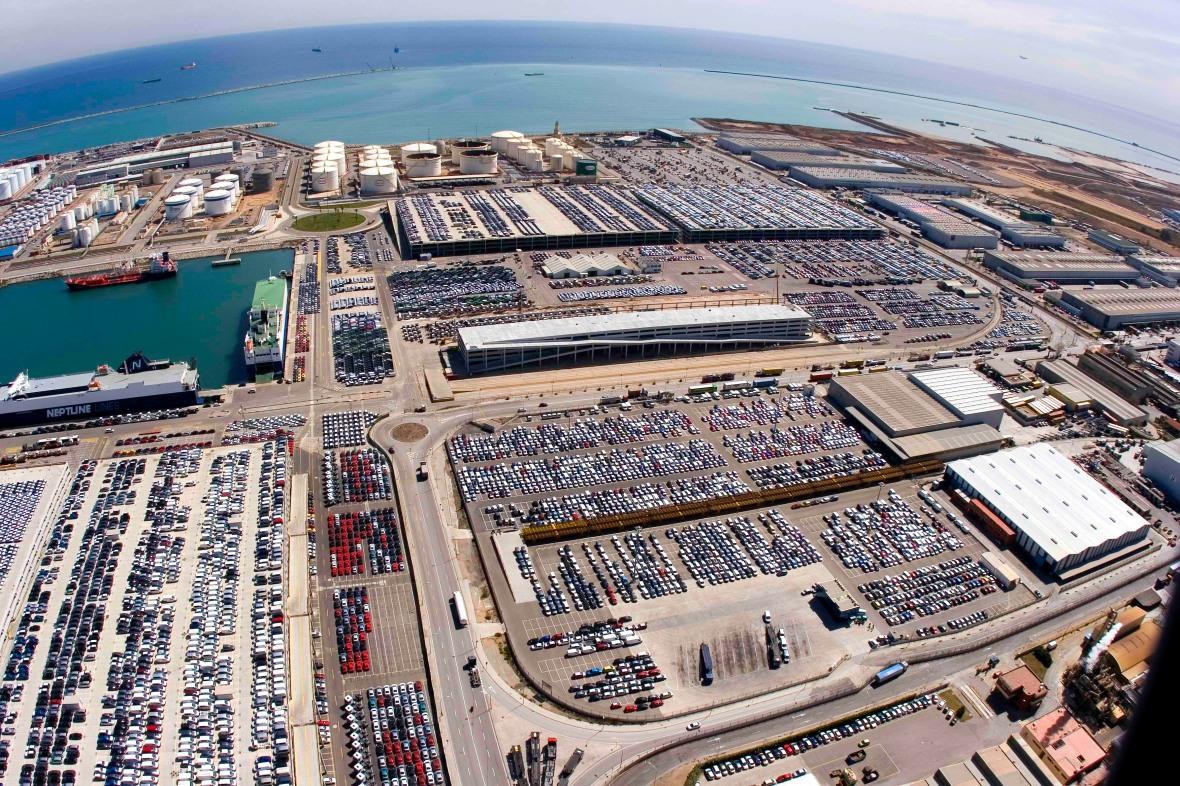 Terminal Automóviles Puerto de Barcelona