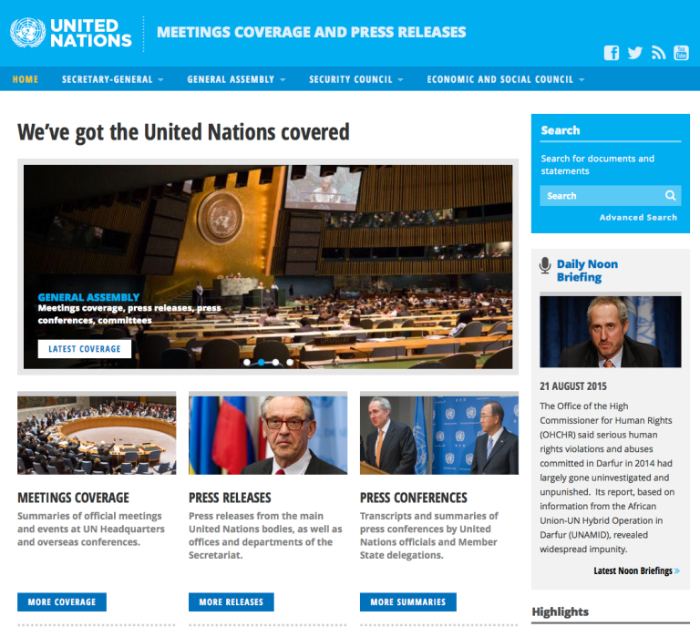 Mandato ONU sobre Transporte vital para desarrolla Europa