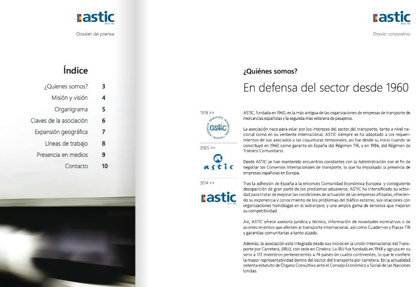 Catalogo Corporativo ASTIC