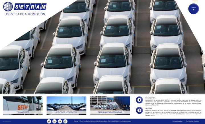 nueva web setram oct 2015