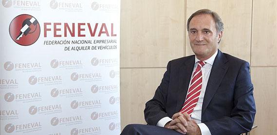 Presidente Feneval El rent a car aumentará su facturación un 5% en 2015