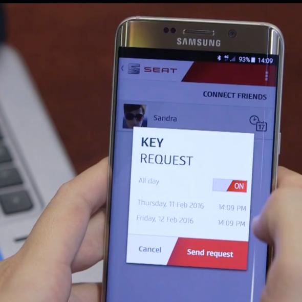 Seat Samsung SAP Coche conectado Video