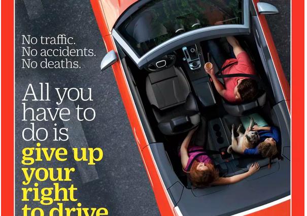 Revista TIME a favor de la Conducción Autónoma 7 marzo 2016