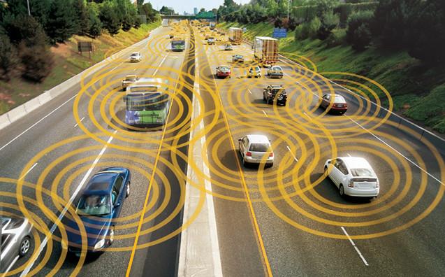 Fotografía coches conectados a Internet