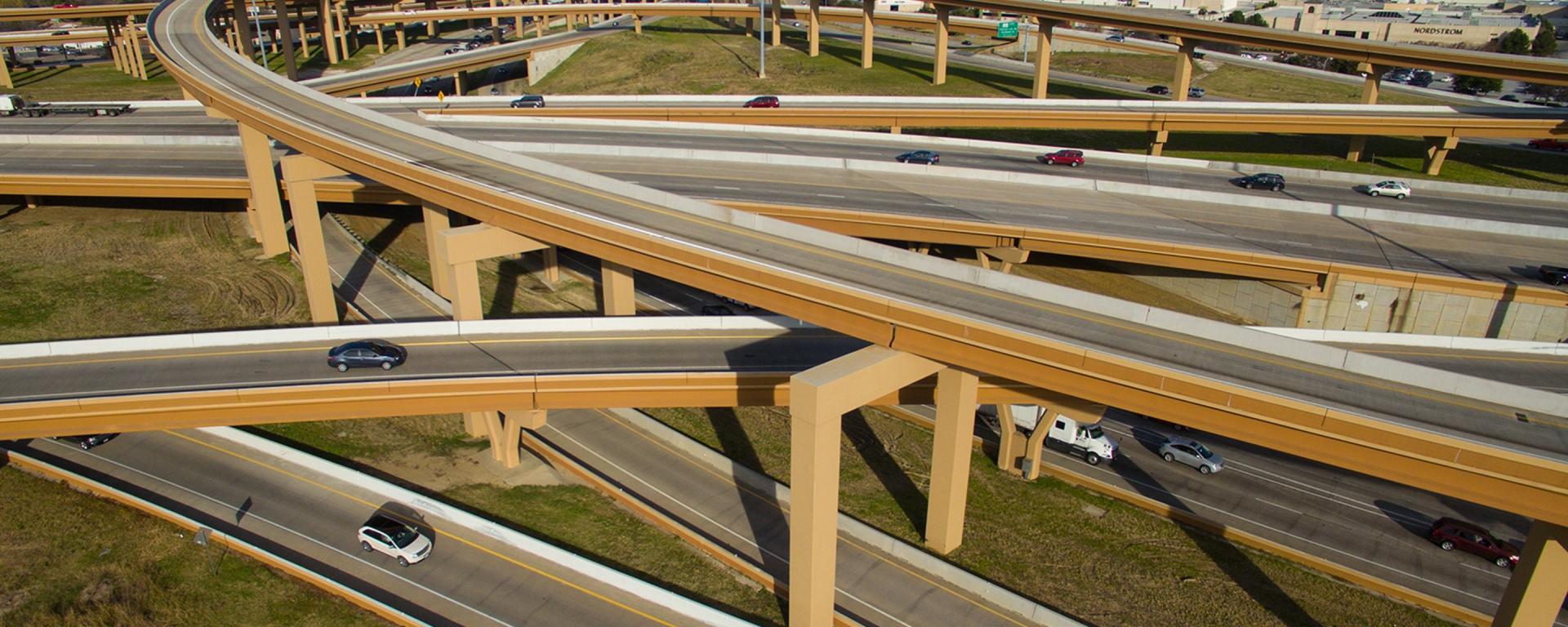 Autopistas de Dallas gestionadas por sistema dinámico Ferrovial