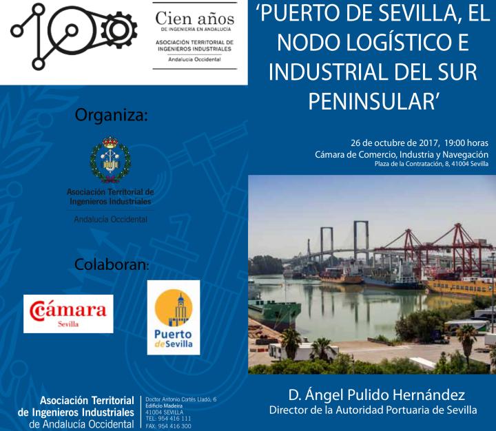 Puerto Sevilla Nodo Logístico Sur Peninsular