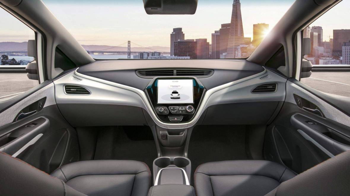 General Motors Autonomous Vehicle