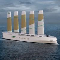 ¿Un buque que usa el viento como motor...para transportar 7.000 coches?