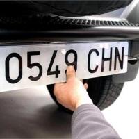 Las nuevas matrículas de los coches ganan en diseño y agilidad administrativa a partir de enero 2021